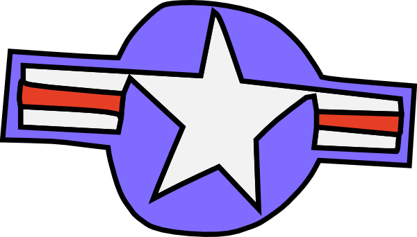 free vector Us Navy Star clip art