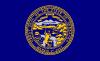 free vector Us Nebraska Flag clip art