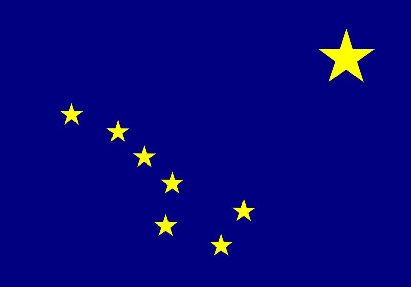 free vector Usa alaska