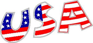 free vector Usa clip art