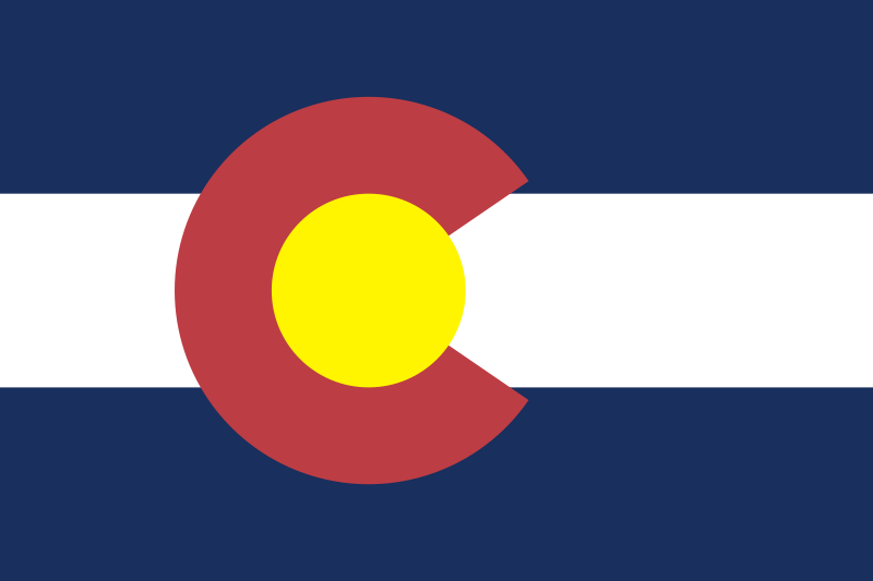 free vector Usa colorado
