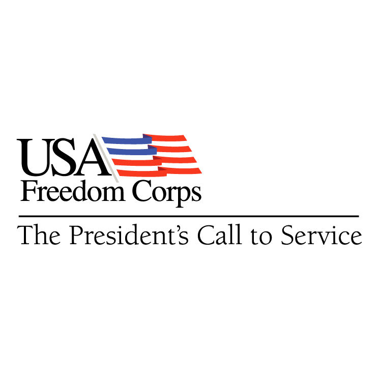 free vector Usa freedom corps