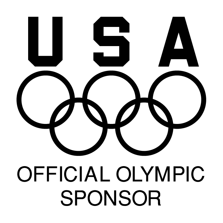 free vector Usa official olympic sponsor