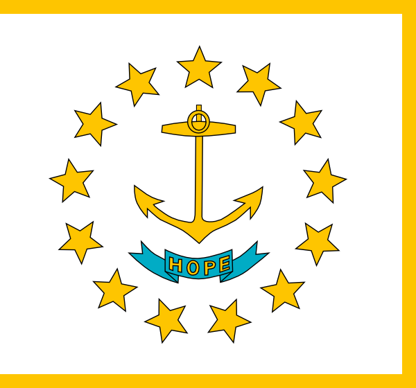 free vector Usa Rhode Island clip art