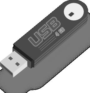 free vector Usb Flash Drive clip art