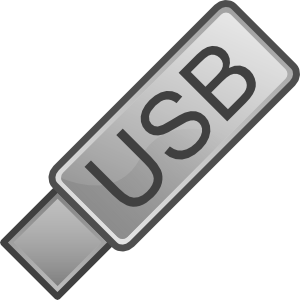 free vector Usb Flash Drive Icon clip art