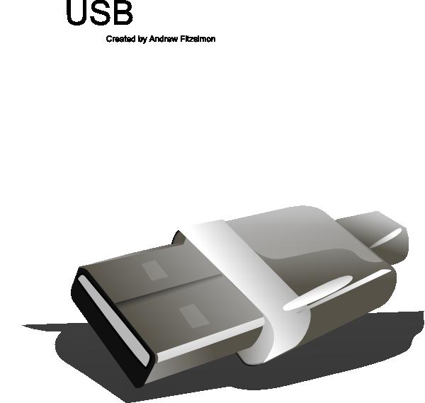 free vector Usb Plug clip art