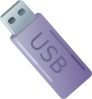 free vector Usb Thumbdrive Flash Memory Storage clip art