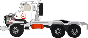free vector Used_truck03 clip art