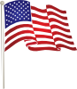 free vector Usflag clip art