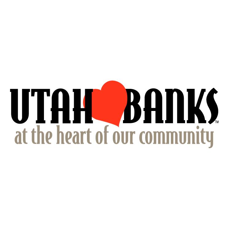 free vector Utah banks 1
