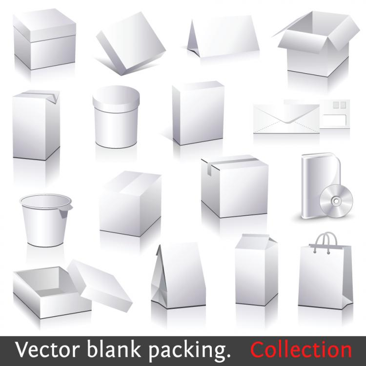 free vector Utility box template vector