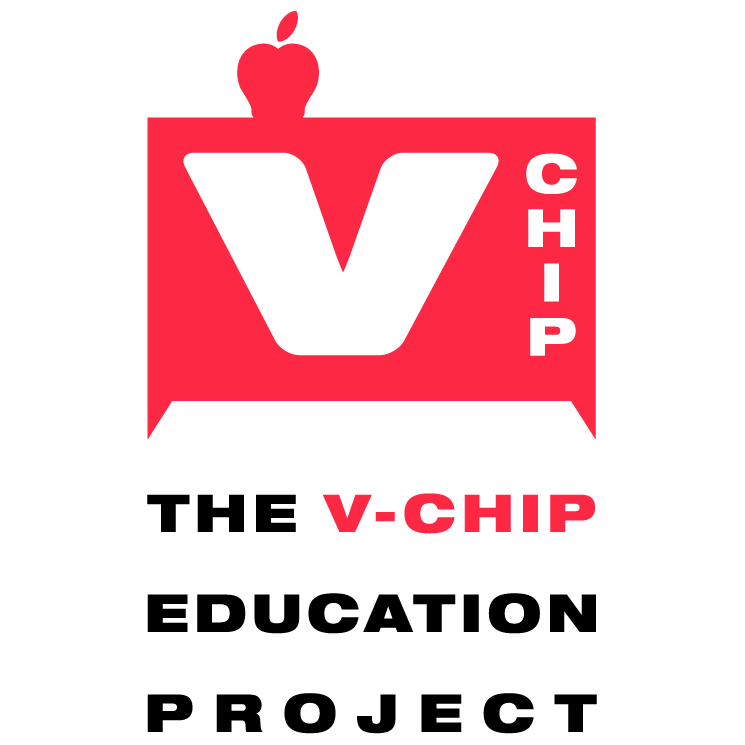 free vector V chip education project