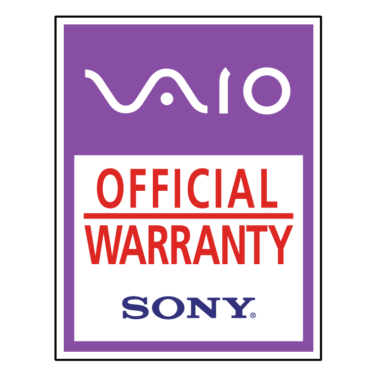 free vector Vaio official warranty