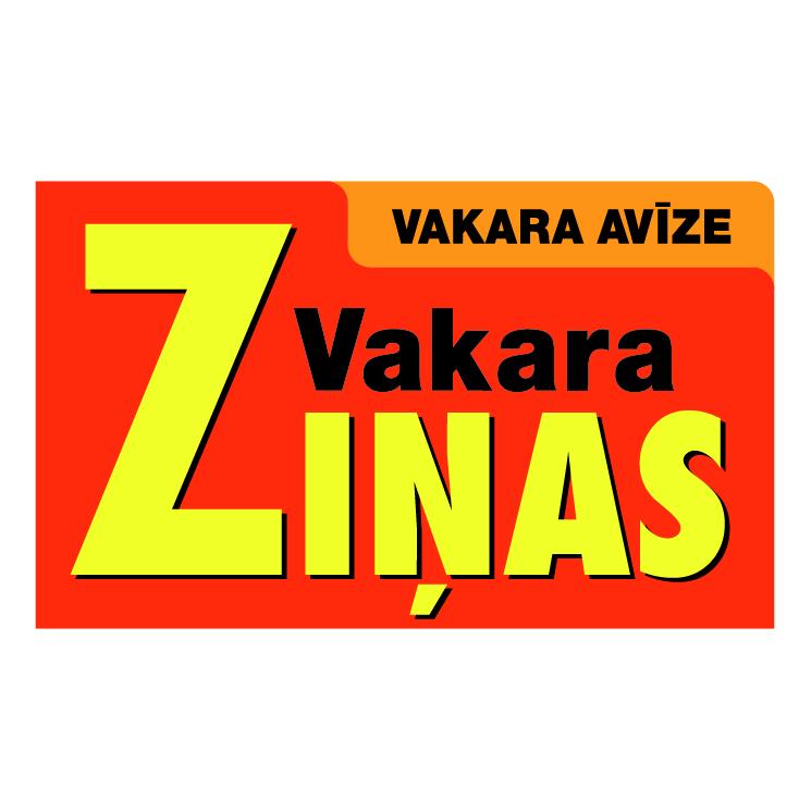 free vector Vakara zinas