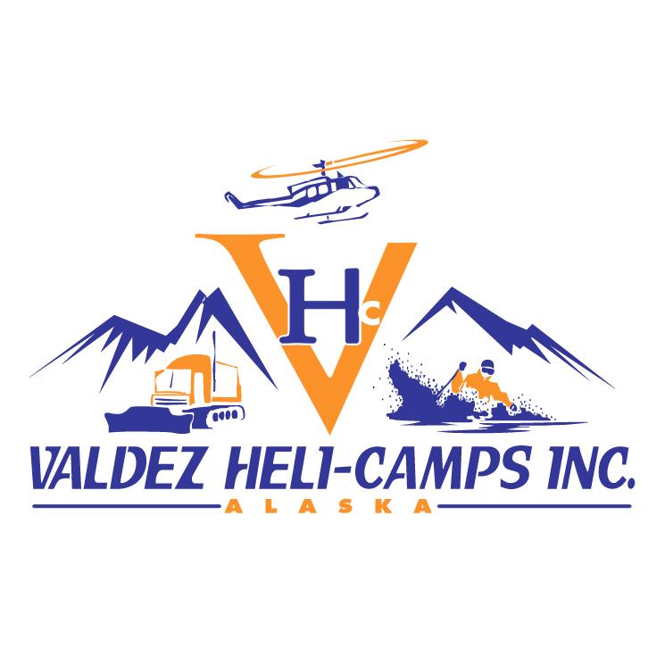 free vector Valdez heli camps