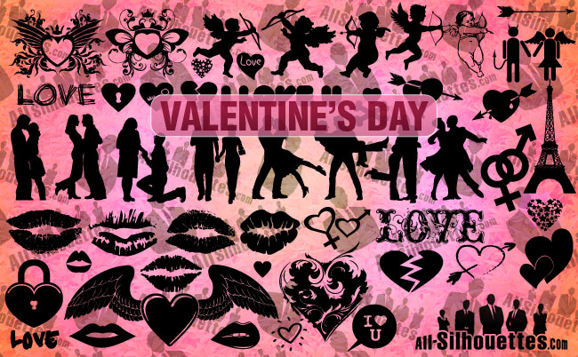 free vector Valentine's Day Clipart