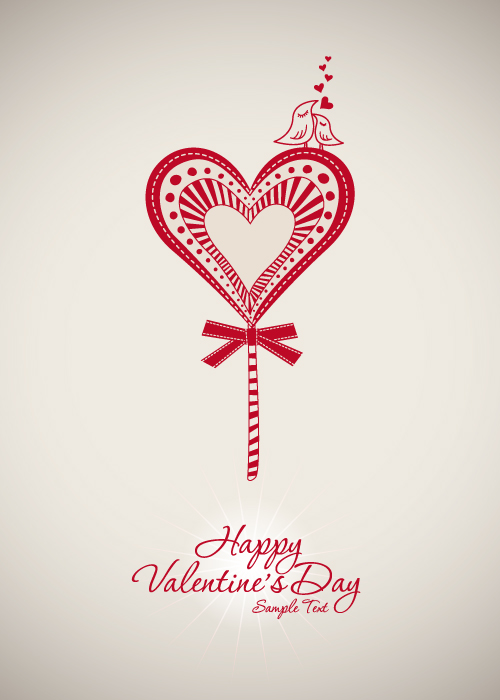 free vector Valentine background 01 vector