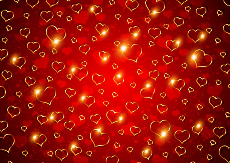 Valentine background 01 vector free vector 4vector