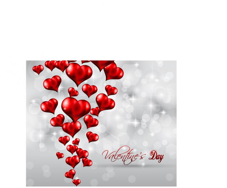 free vector Valentine background 02 vector