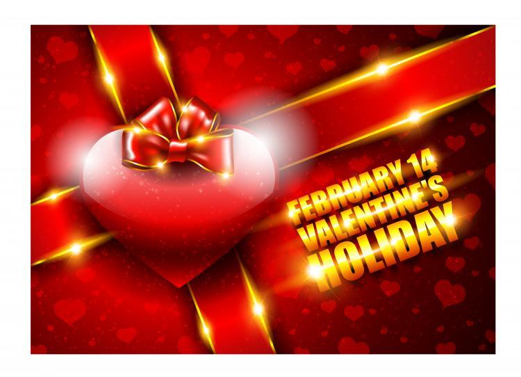 free vector Valentine background 03 vector