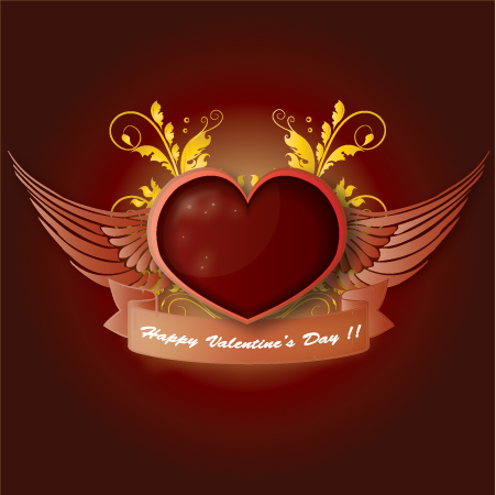free vector Valentines Day Illustration