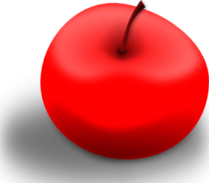 free vector Valessiobrito Apple Red clip art