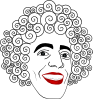 free vector Valessiobrito Clown Val clip art