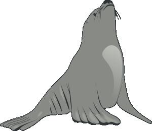 free vector Valessiobrito Sea Lion clip art