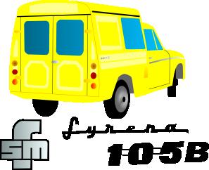 free vector Van Car clip art
