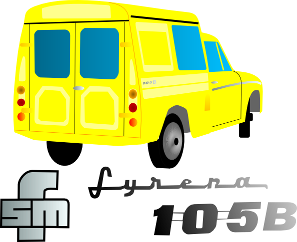 free vector Van Car clip art