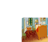 free vector Van Gogh 's Room clip art