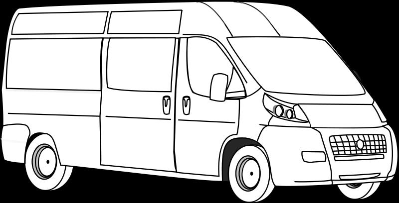 free vector Van Line Art