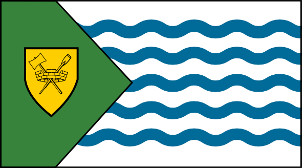 free vector Vancouver City Flag clip art