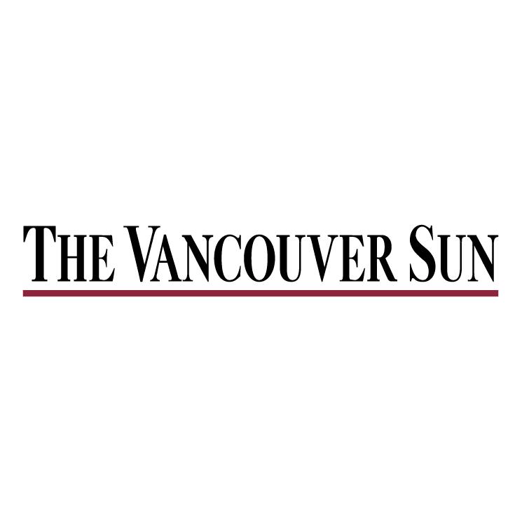 free vector Vancouver sun