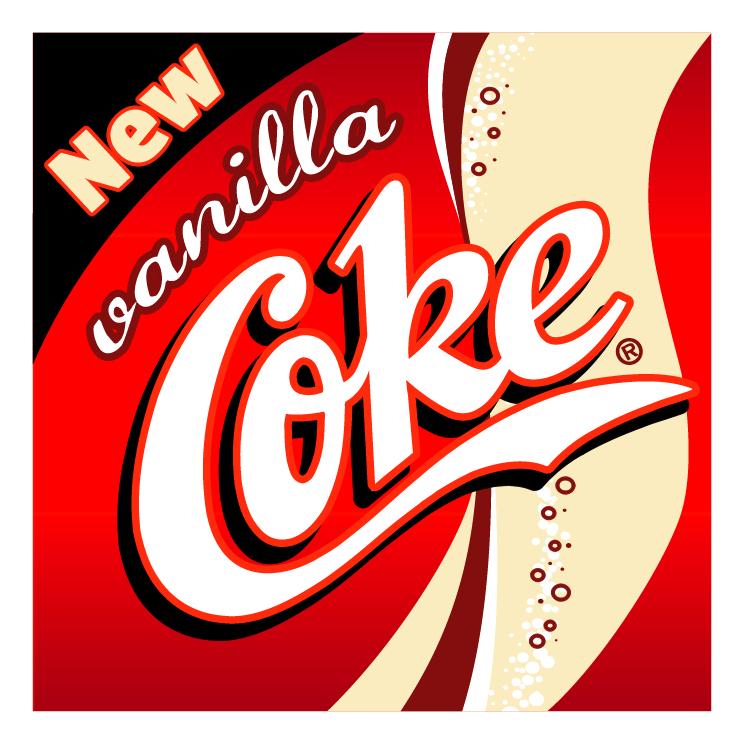 free vector Vanilla coke