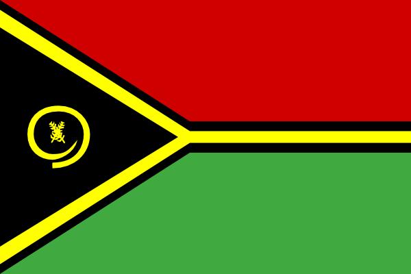free vector Vanuatu clip art