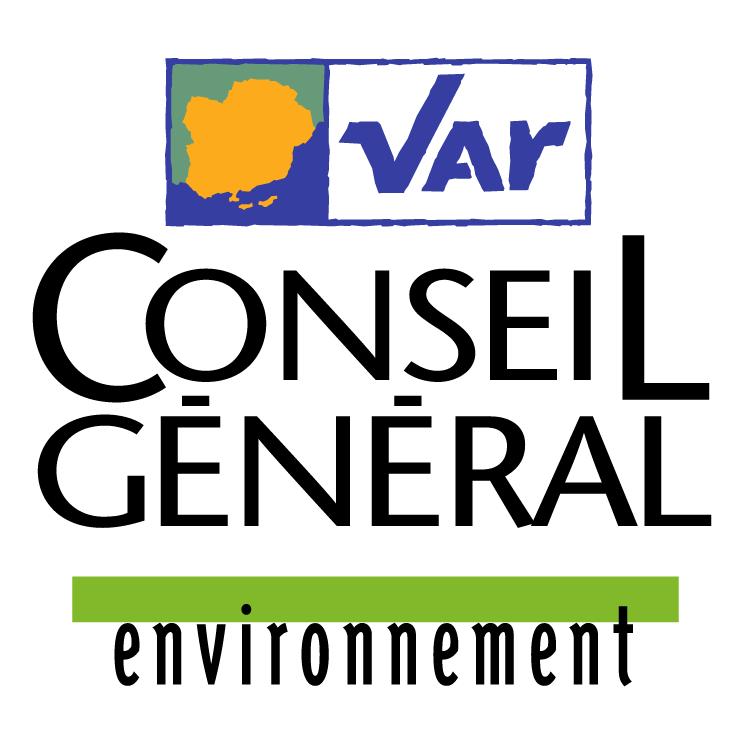 free vector Var conseil general