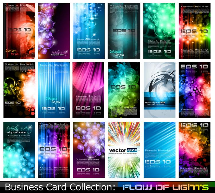 Variety of business card template 05 vector Free Vector 4Vector