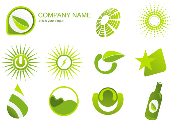 free vector Variety of environmental icon vector