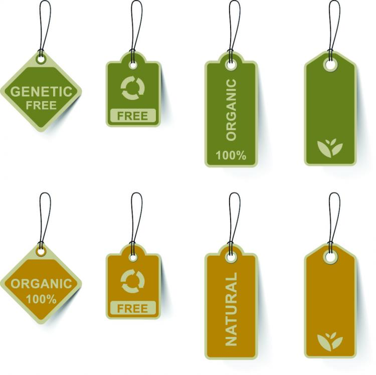 Variety of environmental tag vector Free Vector / 4Vector