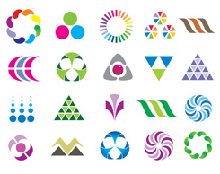 free vector Variety of graphic design vector