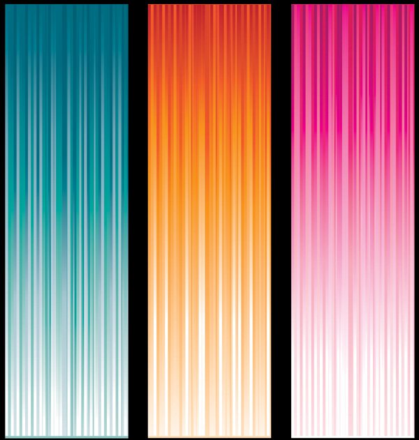 free vector Variety of verticalshaped vector background