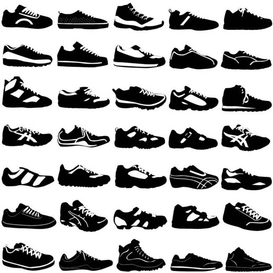 ea788300febe Variety shoes (5400) Free EPS Download / 4 Vector