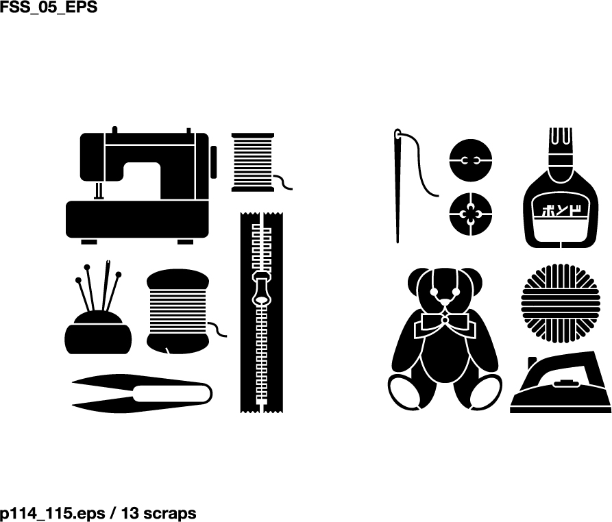 free vector Various elements of vector silhouette or even goods 99 elements