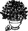 free vector Vase Of Wild Flowers clip art