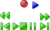 free vector Vcr Dvd Player Buttons clip art