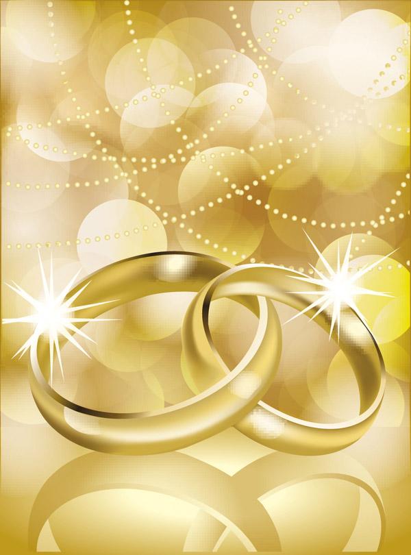 vector 4 wedding ring free vector - Free Wedding Rings