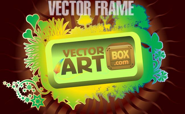 free vector Vector Art Frame