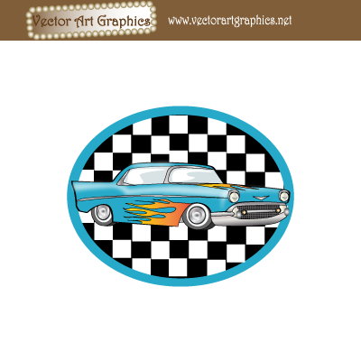 free vector Vector Art Graphics - Classic Automobile